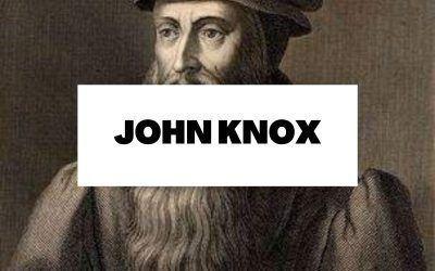 John Knox: La Iglesia presbiteriana